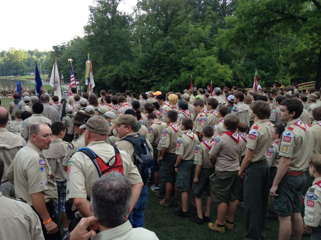Scouting summer camps