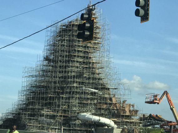 Universal Studios Orlando construction 2016
