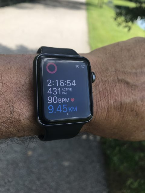 Walking using Apple watch