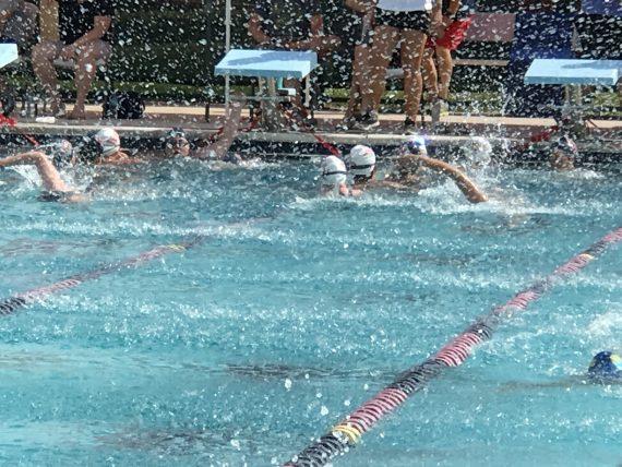 WPS swim meet
