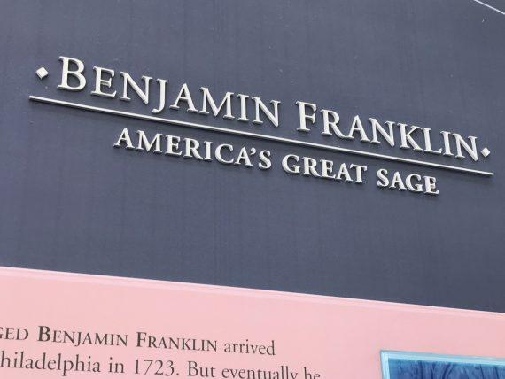 Ben Franklin America's sage
