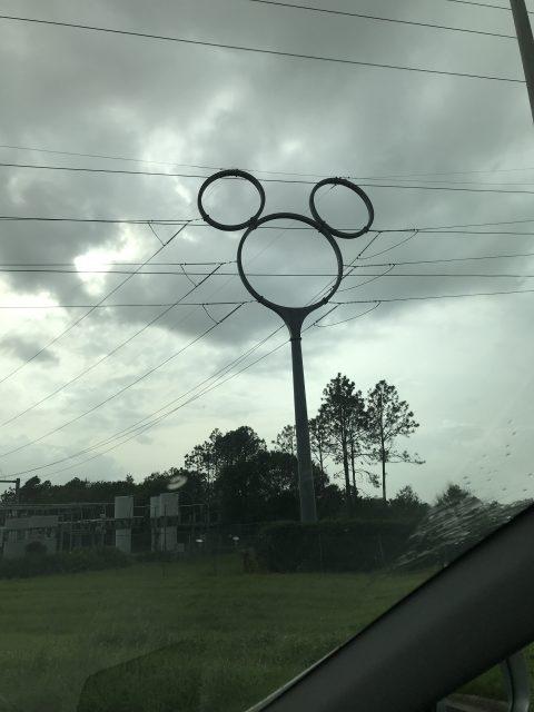 Disney Mickey Mouse power pole