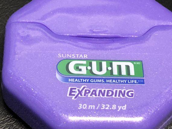 expanding dental floss