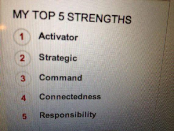 Strength-based leadership