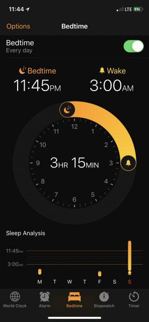 apple clock alarm