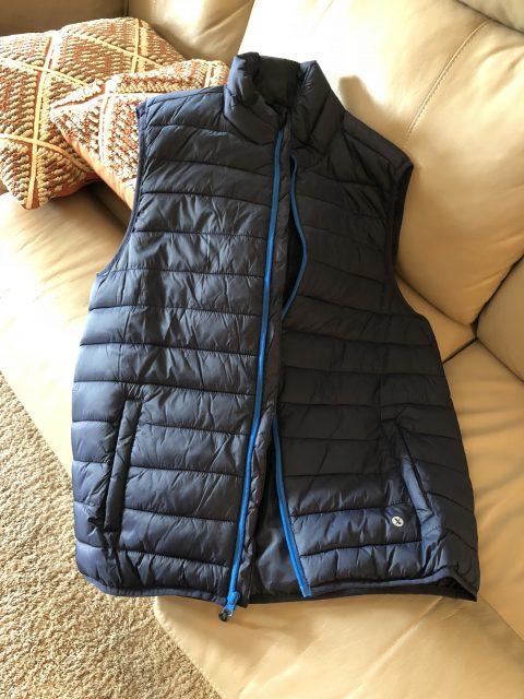 lightweight mens vest