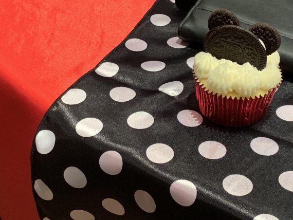Mickey Mouse homemade cupcake