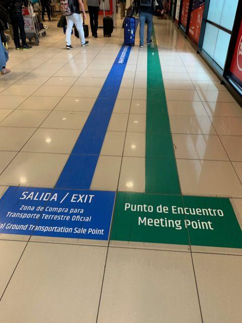 Santiago Chile airport