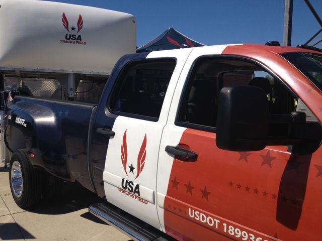 USATF truck