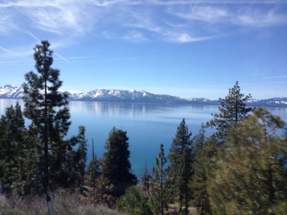 Lake Tahoe from Highway 50