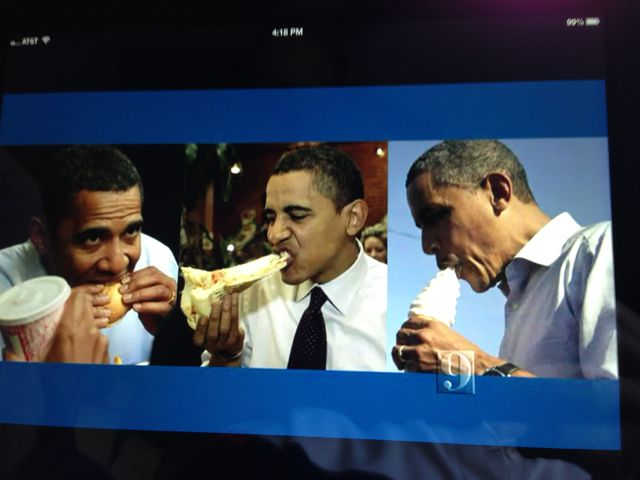 President Obama's road diet