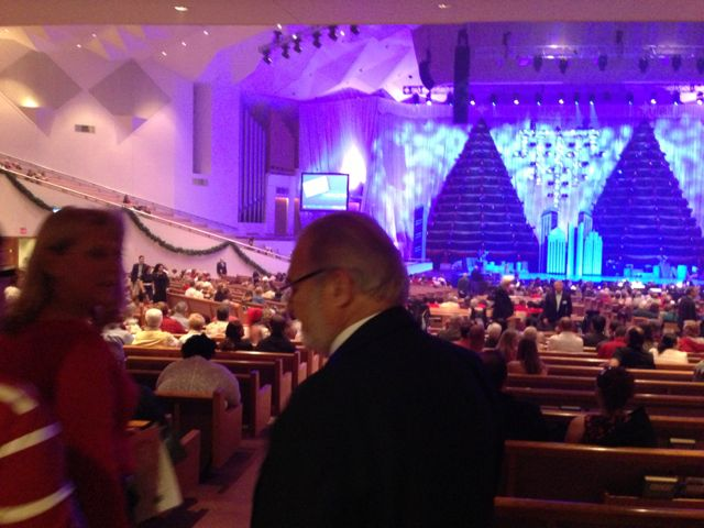 First Baptist The Singing Christmas Trees