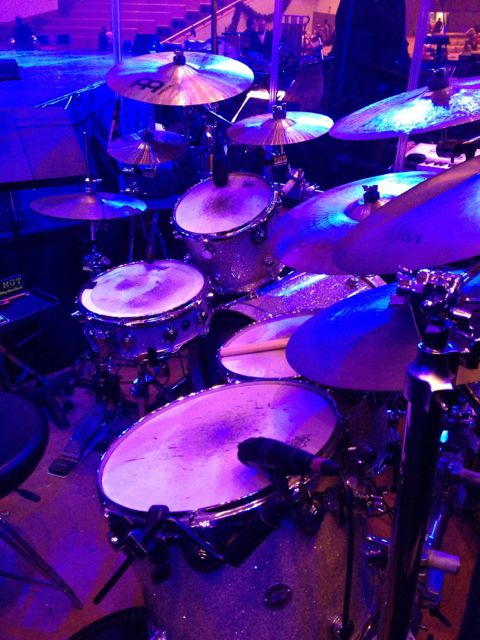 photo of major league drum set