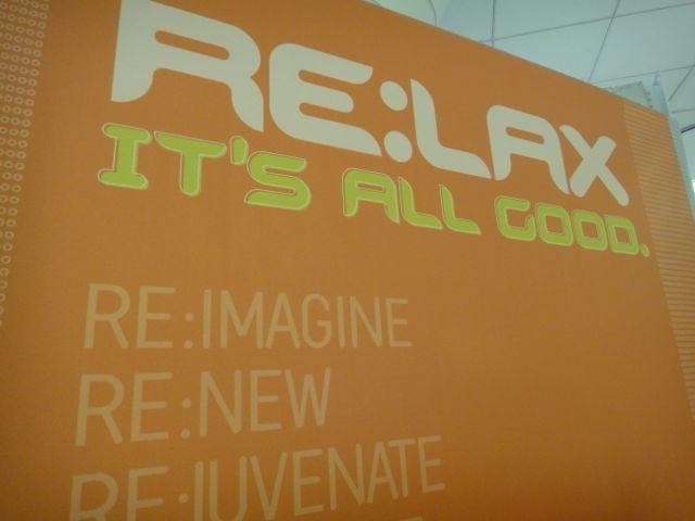 inspiring signage at LAX