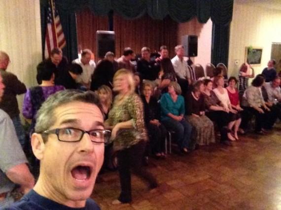 jeff noel at 35th high school reunion
