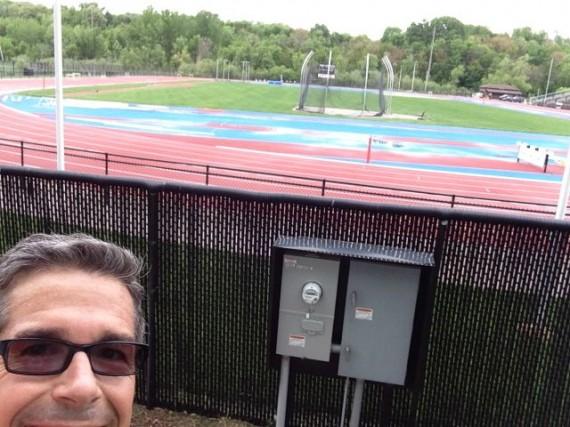 jeff noel at University of Iowa Track & Field complex