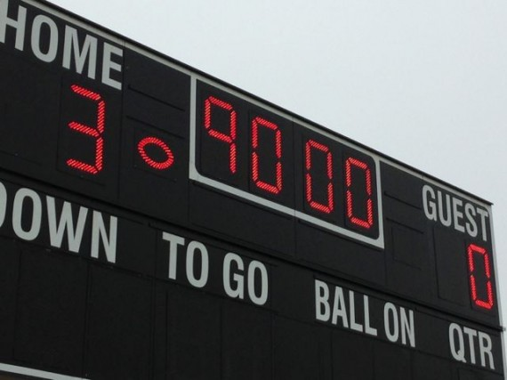 Disney Soccer scoreboard