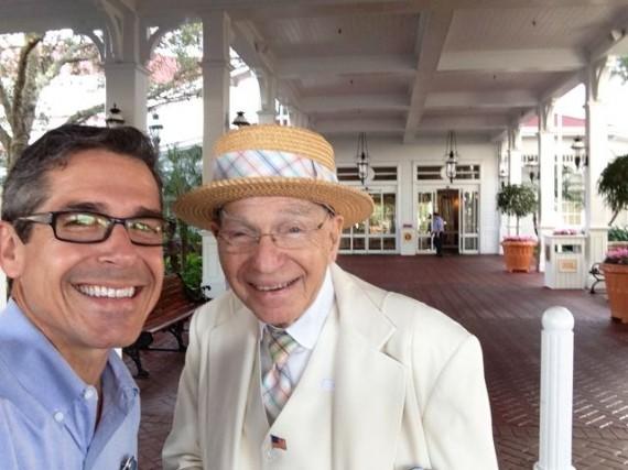 An 87 year old Disney Cast Member