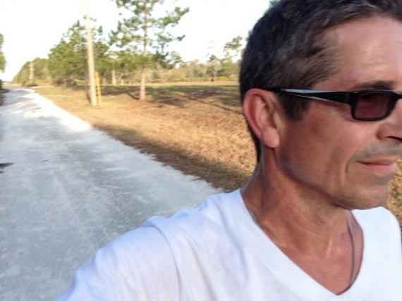 Masters runner near Disney World