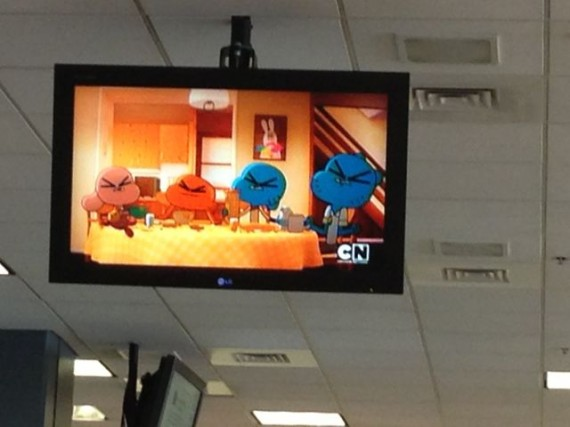 Cartoon Network on Airport TV