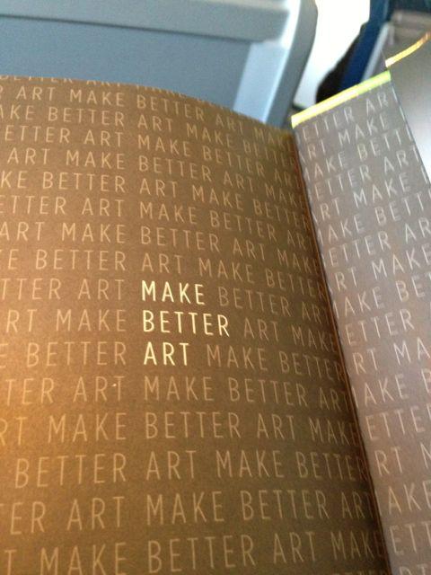 Inside bok cover for Seth Godin's Icarus Deception