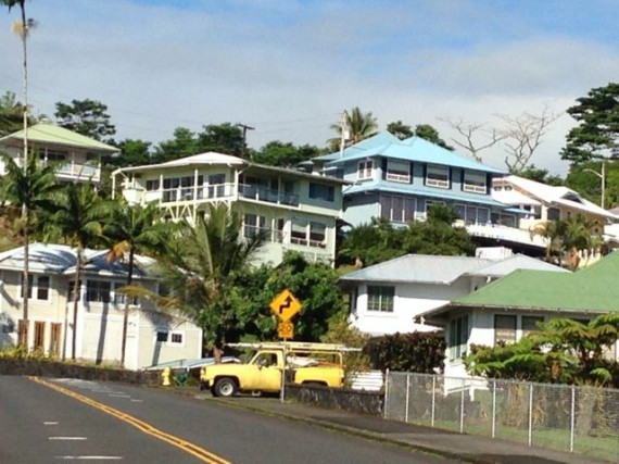 Hilo city hilltop real estate with great views