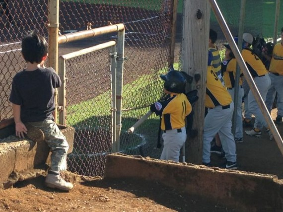 Hilo Hawaii Little League game
