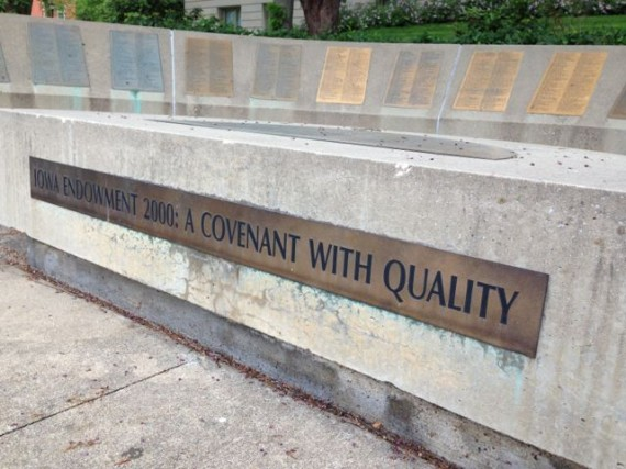 Iowa Endowment 2000: A covenant with quality