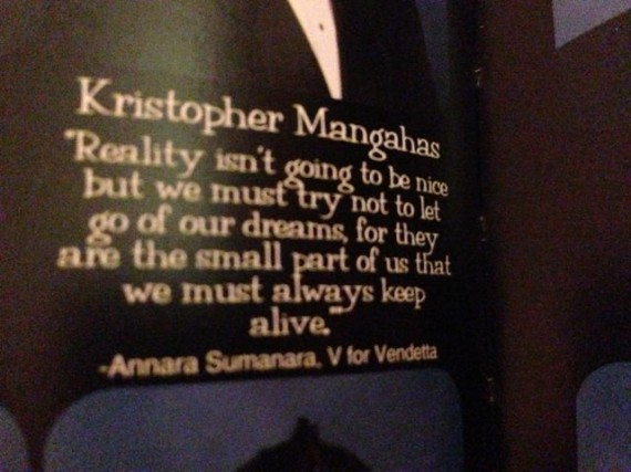 2013 HS Yearbook quotes