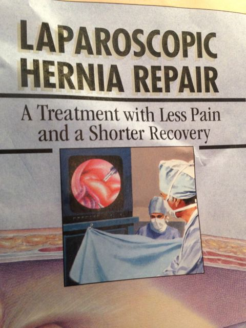 Laparoscopic Hernia Repair brochure