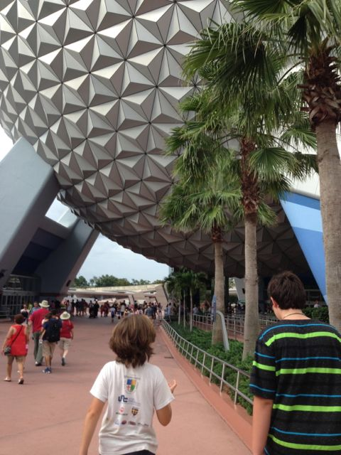 Epcot's Spaceship Earth attraction