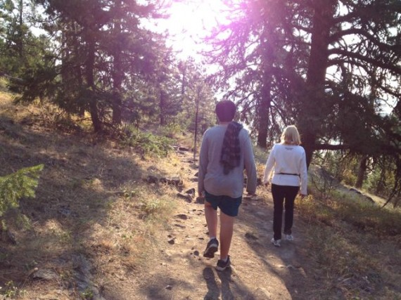 Hiking trail on Kamiak Butte