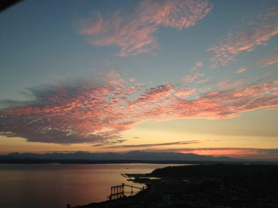 Sunset from Space Needle