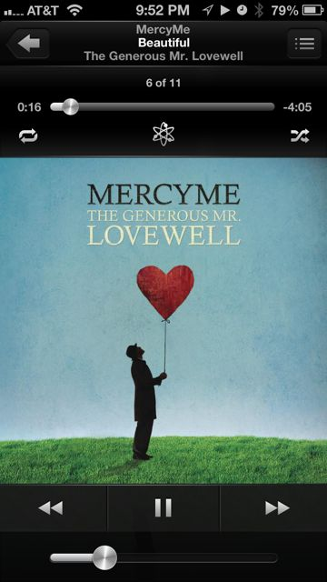 Mercy Me iTunes screen shot