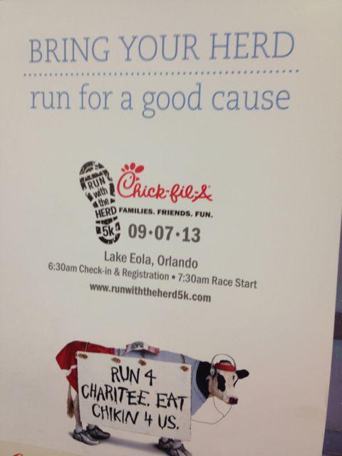 Central Florida 5k run for a good cause