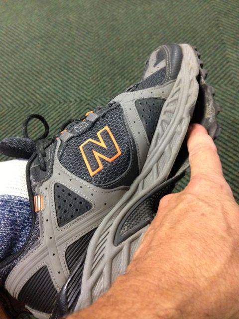 New Balance shoe failure
