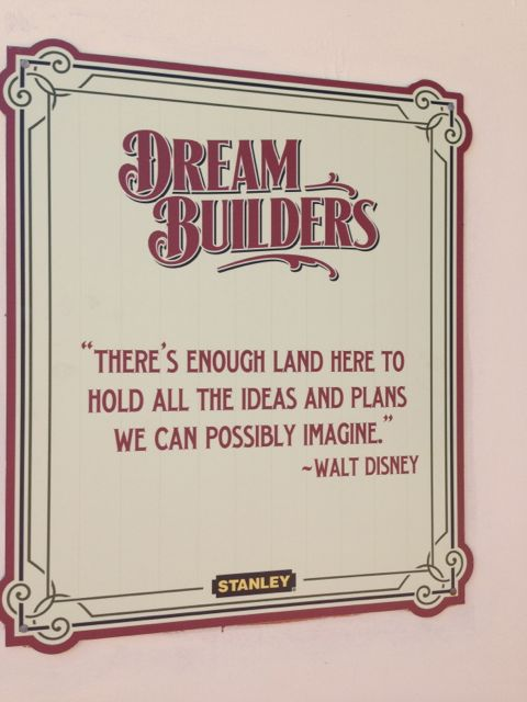Walt Disney quote about large Florida land purchase