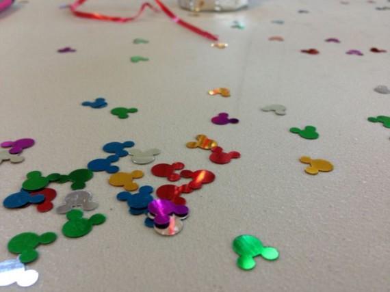 Disney Mickey Mouse mylar confetti