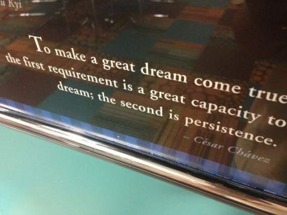 Quote about dreams and perseverance