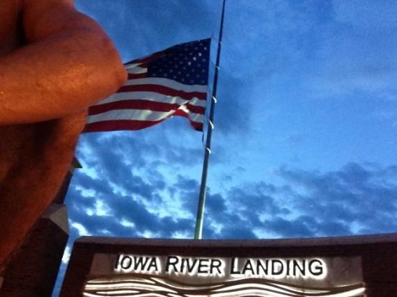 jeff noel Masters runner in Coralville, Iowa