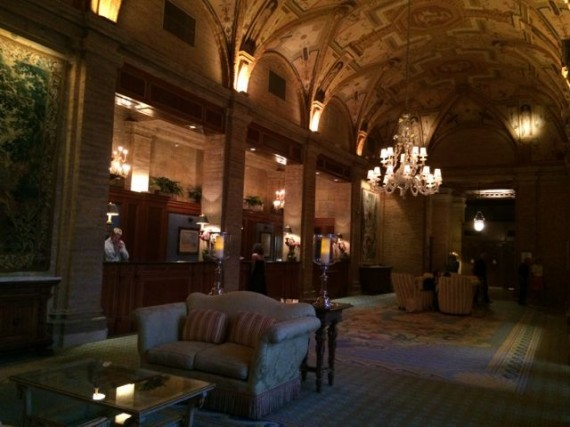 The Breakers front desk