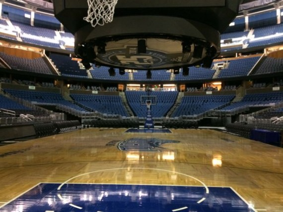 Amway Center before an event