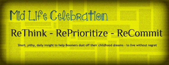 Mid Life Celebration blog header