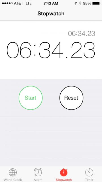 jeff noel's mile time trial time