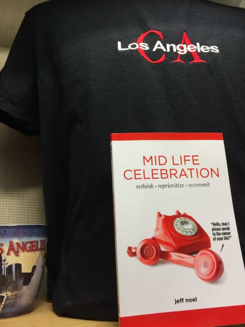 Mid Life Celebration, the book in Los Angeles