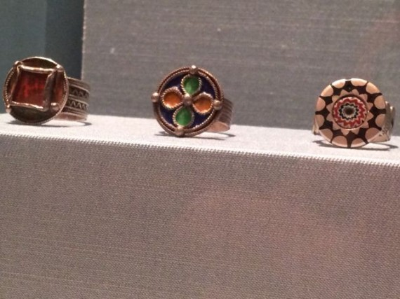Moroccan rings on display at Disney's Epcot