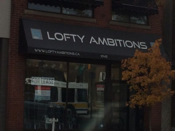 Sign Lofty Ambitions