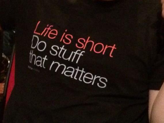 inspirational tee shirt slogan