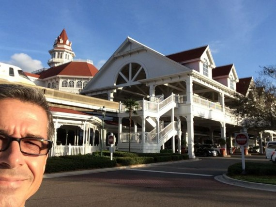 jeff noel at Disney's Grand Floridian Resort and Spa