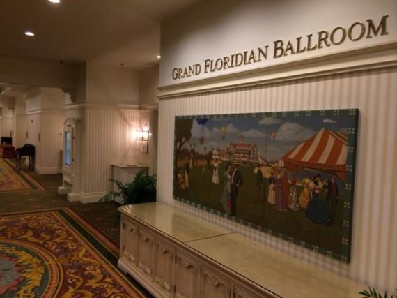 Disney Convention Center Ballroom